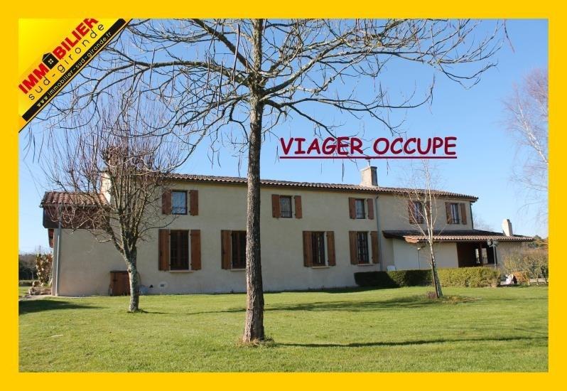 Vendita nell' vitalizio di vita casa Langon 67400€ - Fotografia 1