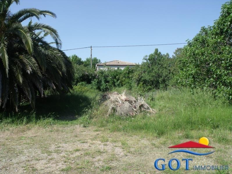 Revenda terreno Villelongue de la salanque 160000€ - Fotografia 1