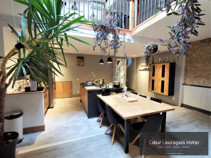 Maison de village auriac sur vendinelle - 5 pièce (s) - 217 m²