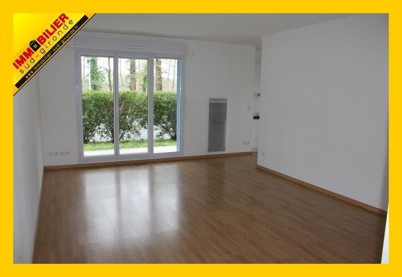 Venta  apartamento Langon 97700€ - Fotografía 1
