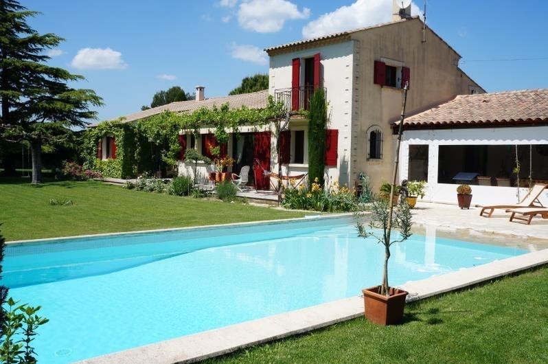 Verkauf von luxusobjekt haus St remy de provence 1155000€ - Fotografie 1