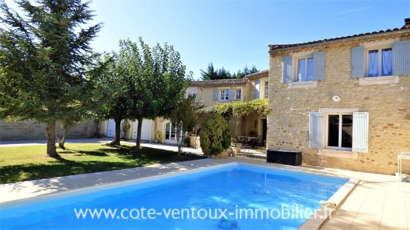Vente maison / villa Aubignan 480 000€ - Photo 1
