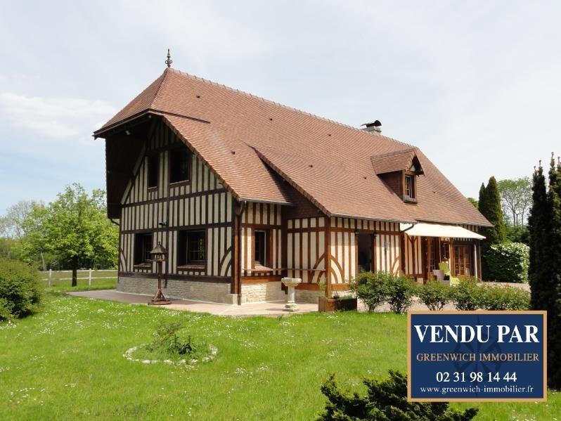 Vente de prestige maison / villa Villers sur mer 590000€ - Photo 1