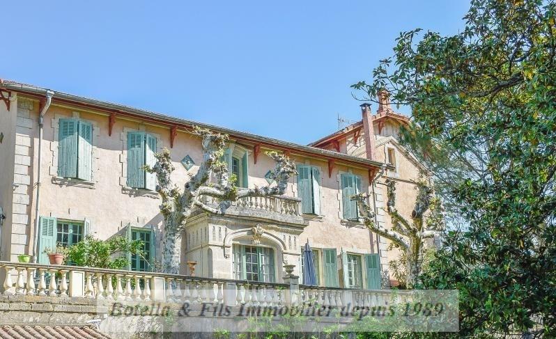 Verkauf von luxusobjekt haus Pont st esprit 472000€ - Fotografie 1
