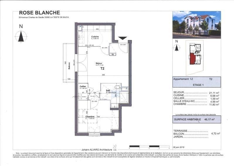 Vente appartement La teste de buch 215250€ - Photo 3