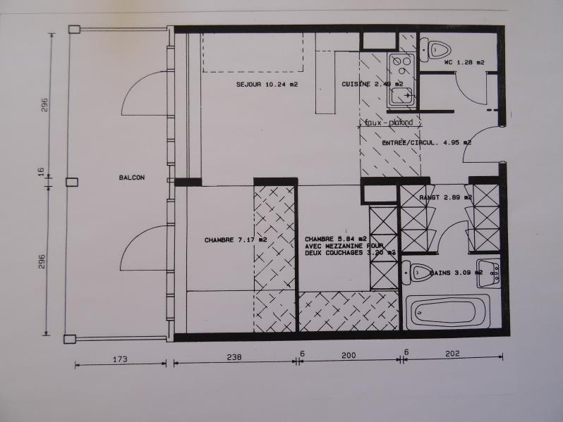 Vente appartement Les arcs 239000€ - Photo 9
