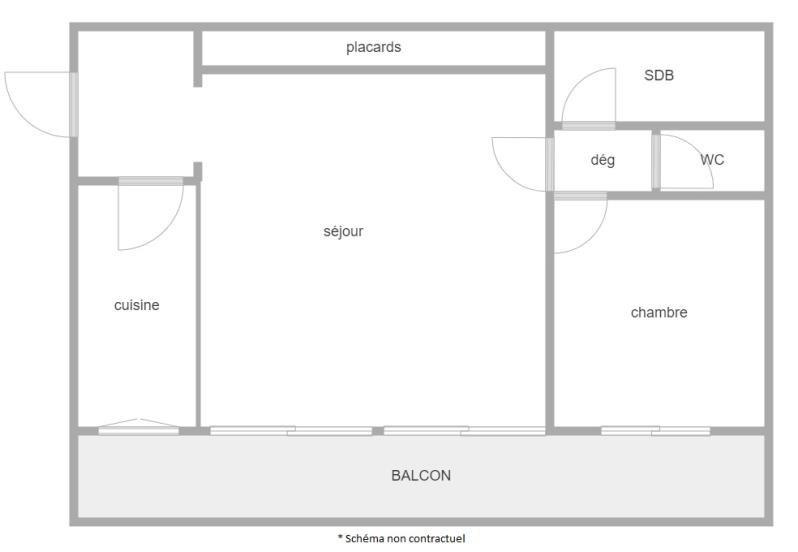 Vente appartement Puteaux 369200€ - Photo 2