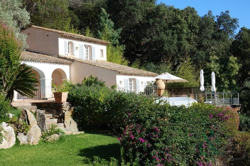 Deluxe sale house / villa Rayol canadel sur mer 4 500 000€ - Picture 1
