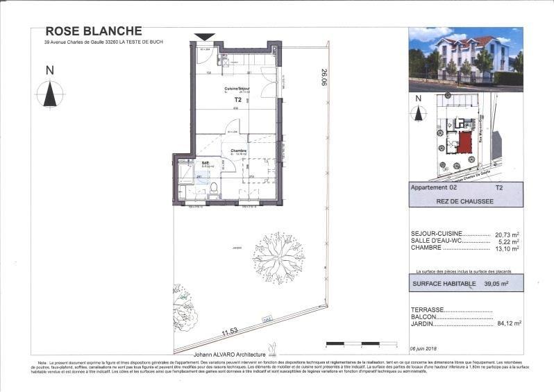 Vente appartement La teste de buch 179550€ - Photo 3