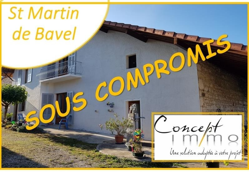 Vente maison / villa St martin de bavel 298 000€ - Photo 1