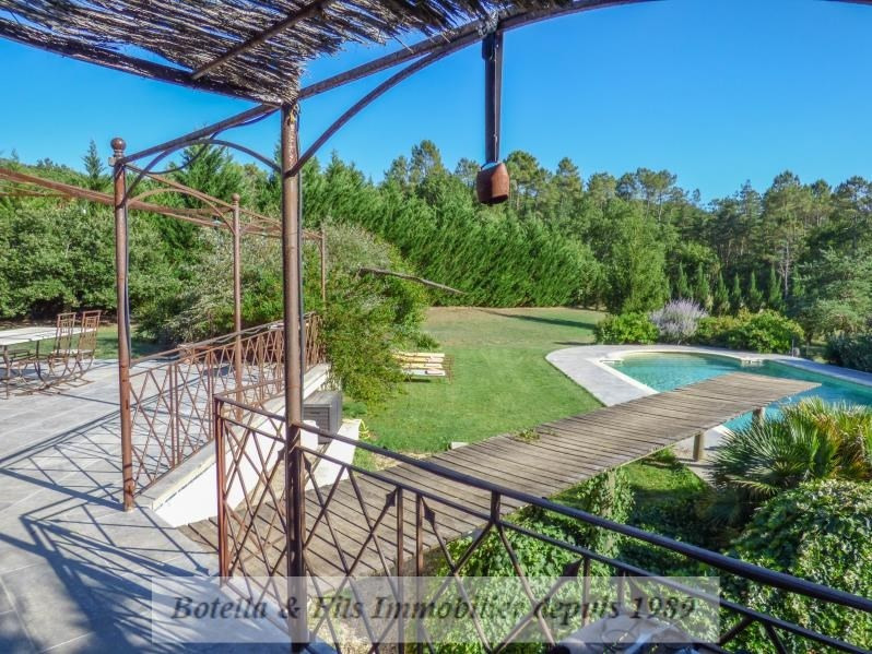 Verkoop van prestige  huis Barjac 593000€ - Foto 6