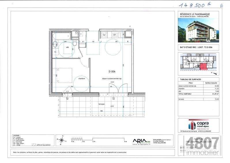 Vente appartement Sallanches 148500€ - Photo 3