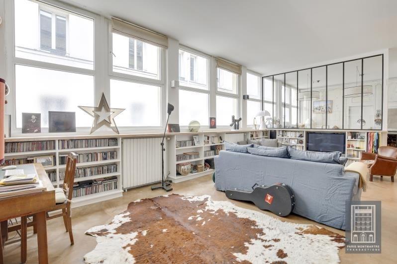 Deluxe sale loft/workshop/open plan Paris 11ème 1450000€ - Picture 1