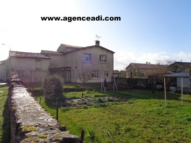 Vente maison / villa Pamproux 69000€ - Photo 1