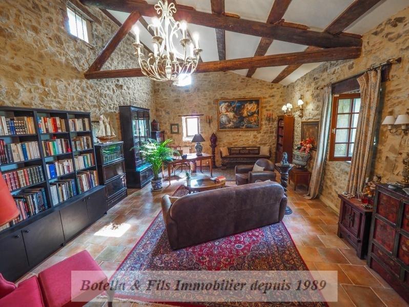 Verkauf von luxusobjekt haus Uzes 480000€ - Fotografie 3