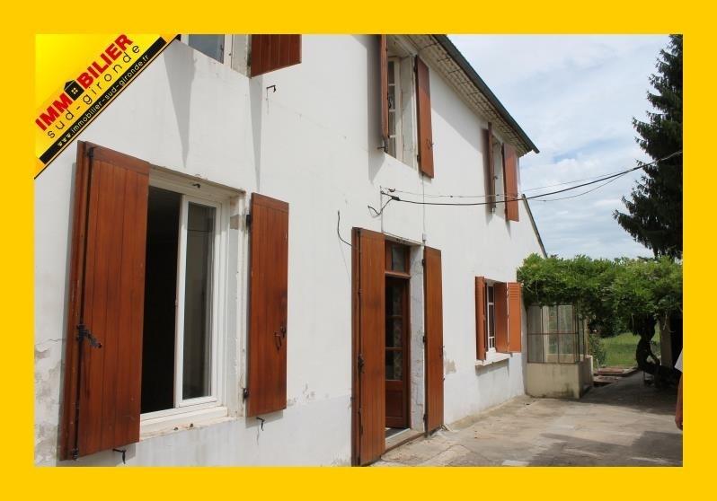 Sale house / villa Langon 150200€ - Picture 1