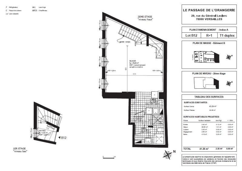 Vente appartement Versailles 486600€ - Photo 2