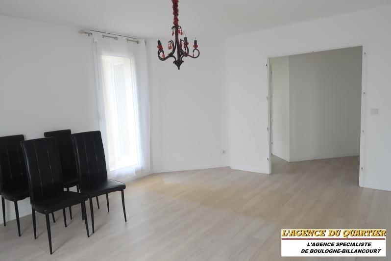 Locação apartamento Boulogne billancourt 1500€ CC - Fotografia 2