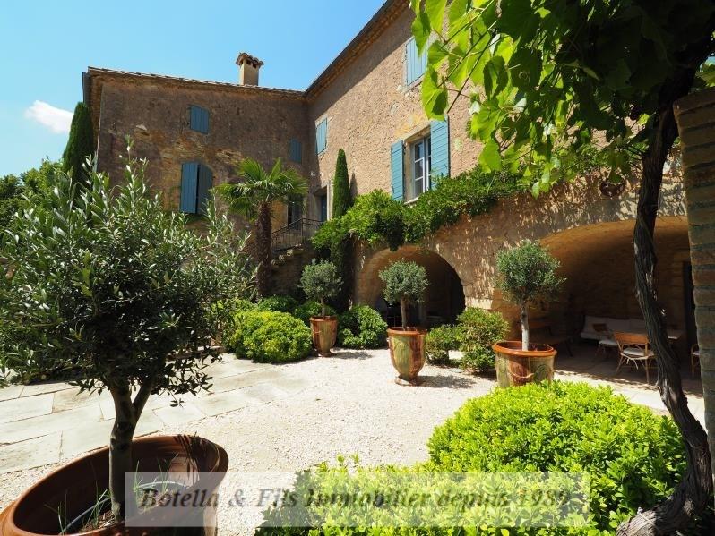 Vente de prestige maison / villa Uzes 1260000€ - Photo 1