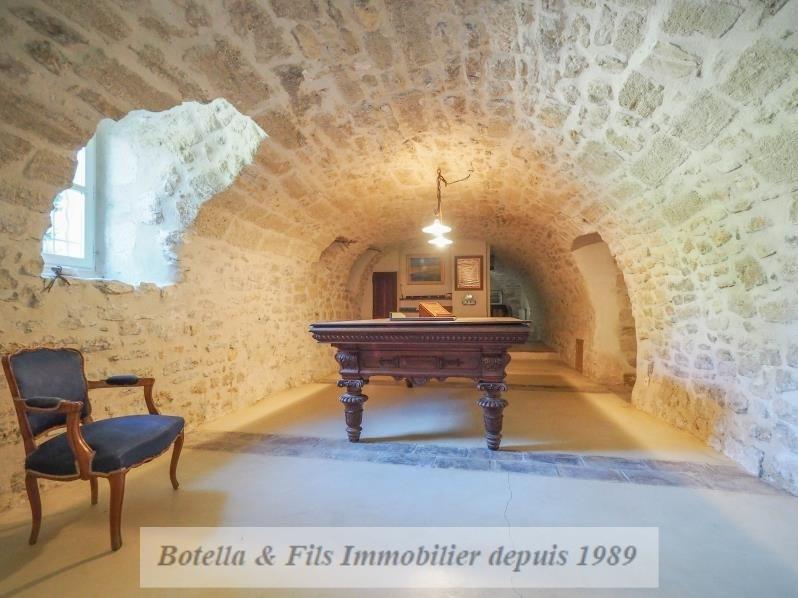 Venta de prestigio  casa Uzes 1690000€ - Fotografía 16