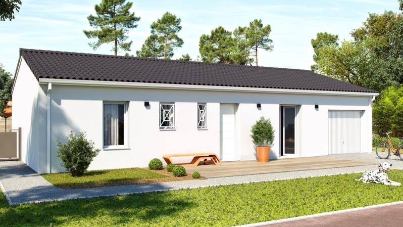 Vente maison / villa St front de pradoux 129000€ - Photo 1