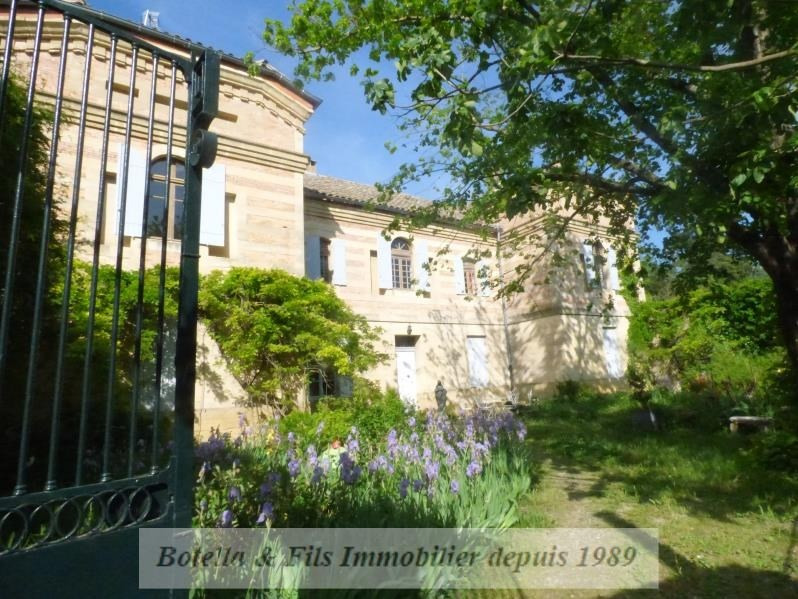 Immobile residenziali di prestigio casa Uzes 975000€ - Fotografia 2
