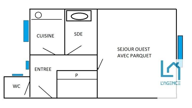 Vente appartement Boulogne 252000€ - Photo 1