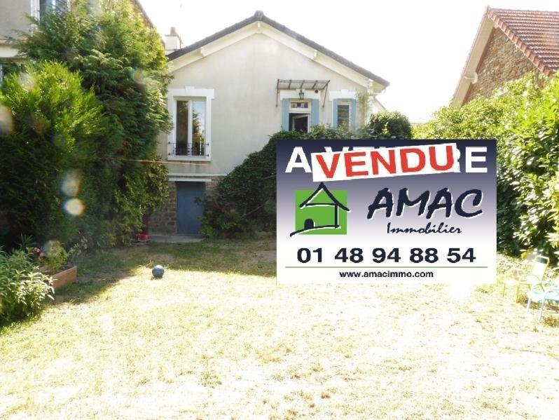 Vente maison / villa Les pavillons sous bois 289000€ - Photo 1
