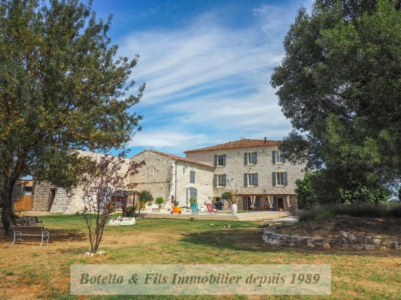Immobile residenziali di prestigio casa Uzes 842000€ - Fotografia 3