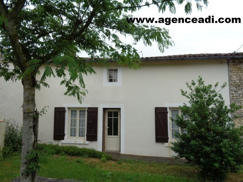 Vente maison / villa Exoudun 75 600€ - Photo 1