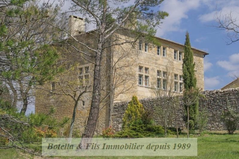 Deluxe sale chateau Uzes 1985000€ - Picture 2