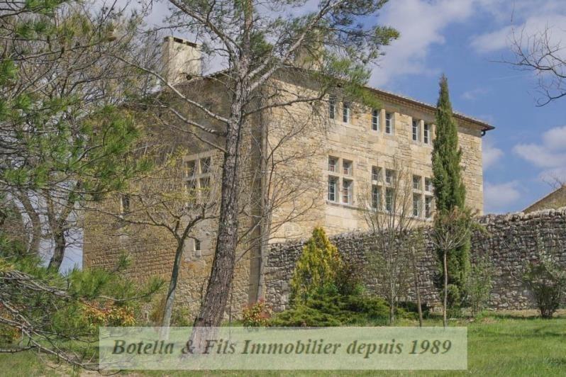 Verkoop van prestige  kasteel Uzes 1985000€ - Foto 2