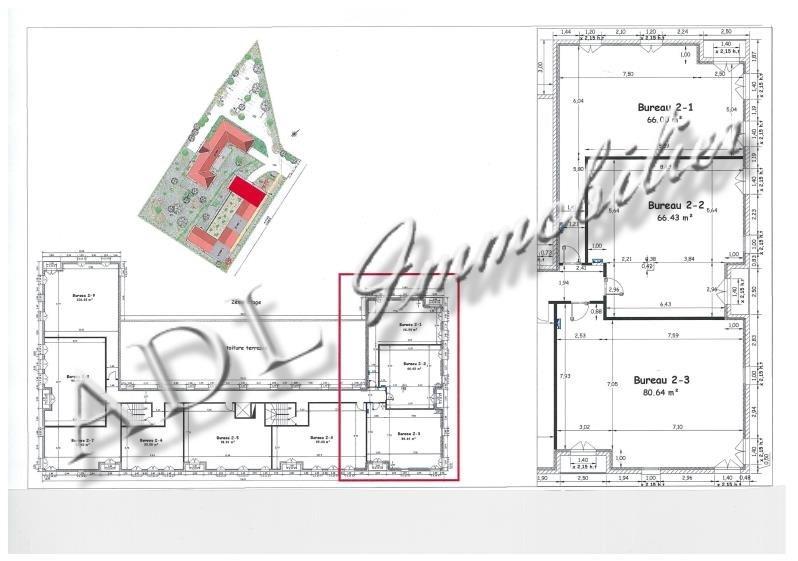 Sale office La chapelle en serval 132528€ - Picture 5