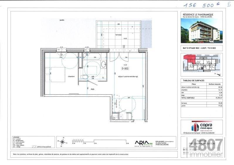 Vente appartement Sallanches 156500€ - Photo 3