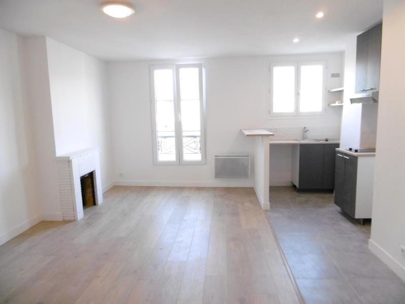 Rental apartment Levallois 1 100€ CC - Picture 1