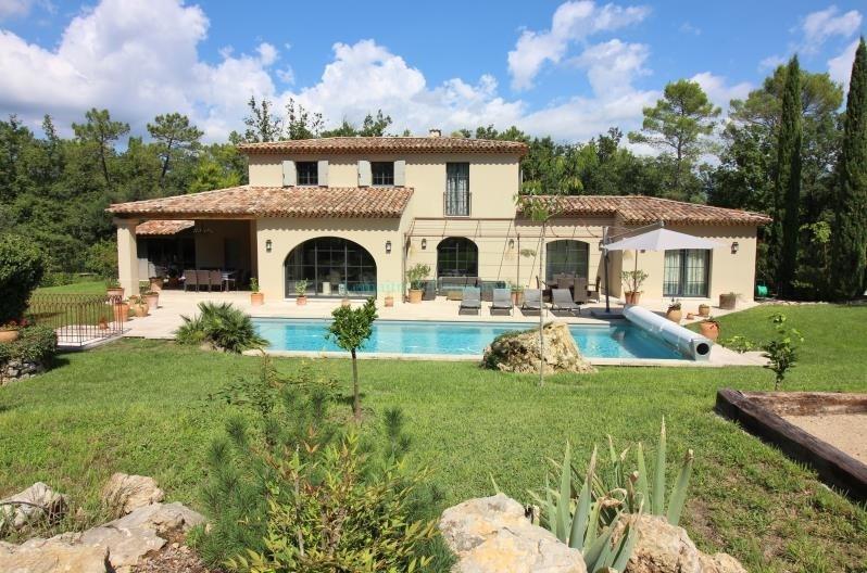 Vente de prestige maison / villa Tourrettes 1290000€ - Photo 3