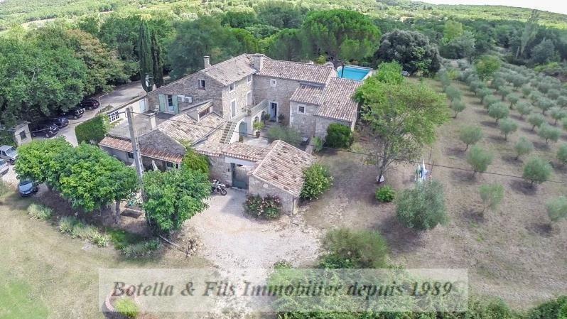 Verkoop van prestige  huis Uzes 1295000€ - Foto 2