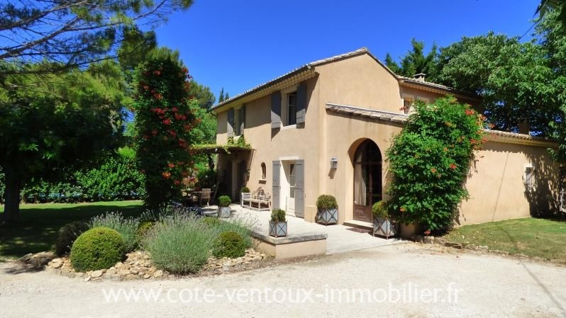 Sale house / villa Mazan 449 000€ - Picture 1