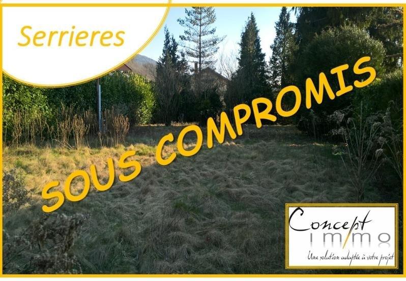 Vente terrain Serrieres en chautagne 72000€ - Photo 1