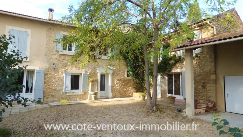 Vente de prestige maison / villa Sarrians 546 000€ - Photo 1