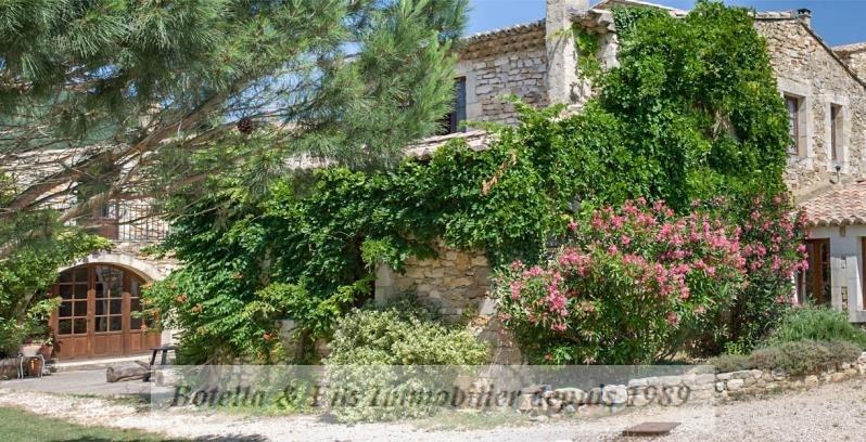 Verkoop van prestige  huis Uzes 985000€ - Foto 1
