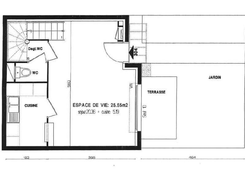 Venta  casa Ivry sur seine 448000€ - Fotografía 5