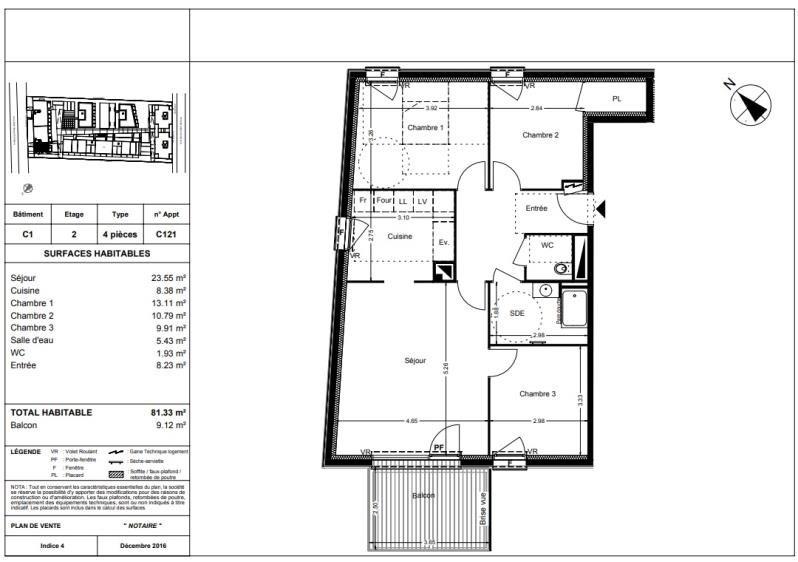 Vente appartement Balma 271000€ - Photo 10
