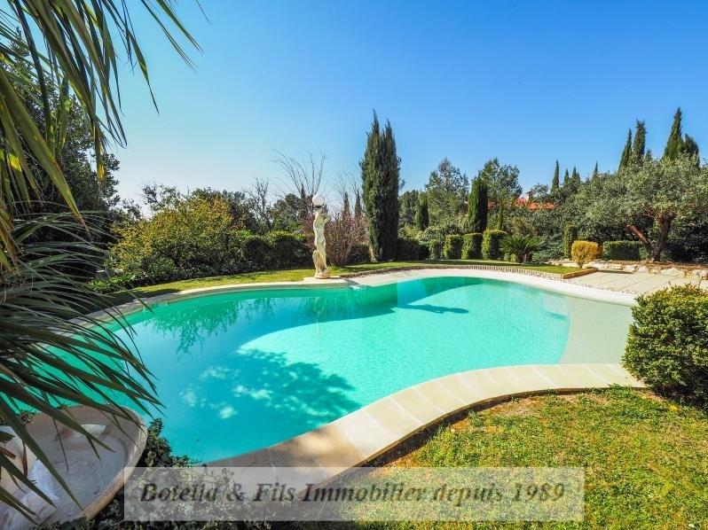 Venta de prestigio  casa Uzes 749000€ - Fotografía 1