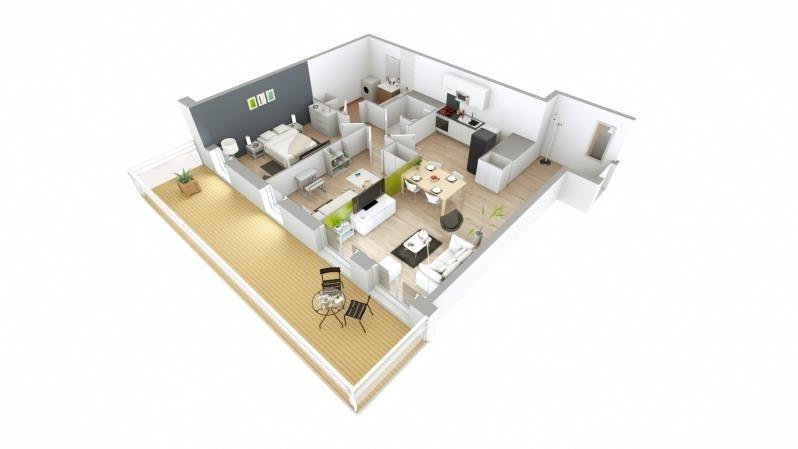 Vente appartement Versailles 520000€ - Photo 5