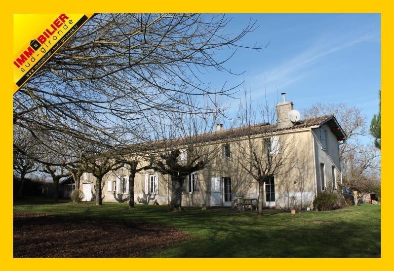 Sale house / villa Langon 389100€ - Picture 1
