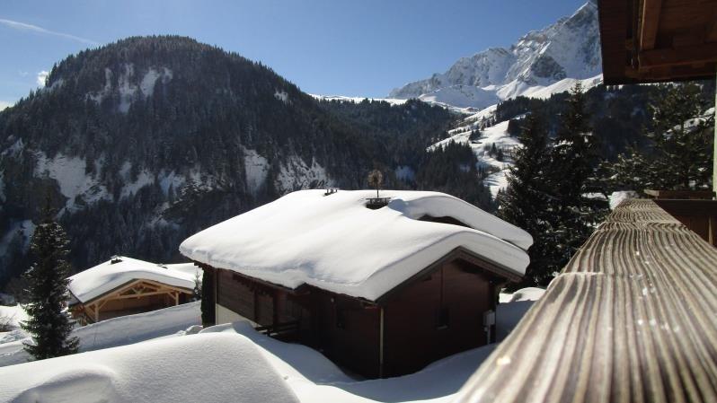 Venta de prestigio  casa La giettaz 682500€ - Fotografía 1