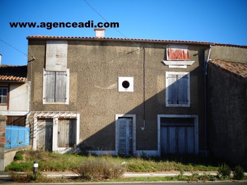 Vente maison / villa Pamproux 49500€ - Photo 1