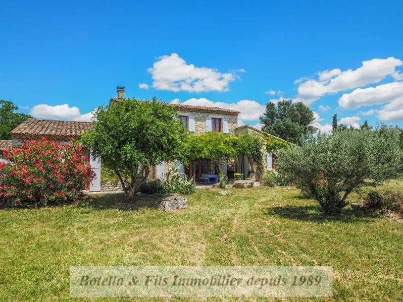 Vente de prestige maison / villa Goudargues 485000€ - Photo 1