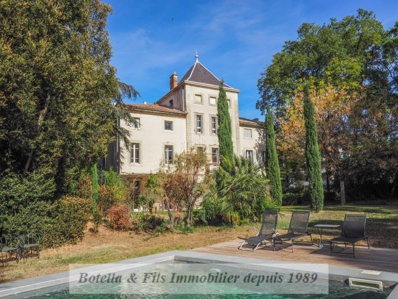 Deluxe sale chateau Uzes 760000€ - Picture 2